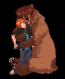 A Big Bear Hug:. by Patsuko on DeviantArt
