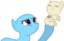 MLP Base 2 - Mother and Son by Pastellular on DeviantArt