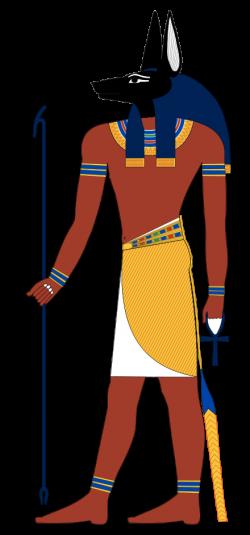 VL9.10 Anubis, the dog god in his half human form. | Via Luton Vol I ...