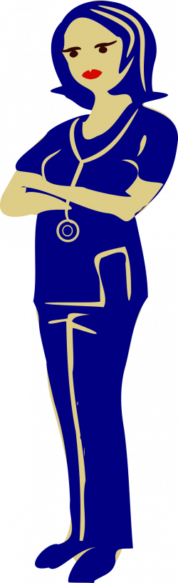 Clipart - clinical nurse