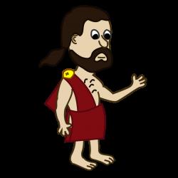Public Domain Clip Art Image | Comic characters: Toga | ID ...
