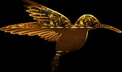 ForgetMeNot: golden birds