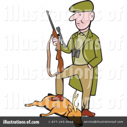 Hunter Clipart #1093822 - Illustration by patrimonio