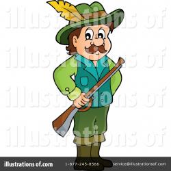 Hunter Clipart #1270160 - Illustration by visekart