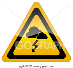 Stock Illustrations - Storm warning. Stock Clipart ...