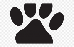 Husky Clipart Bear Paw - Cat Paw Print Small - Png Download ...