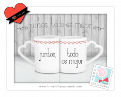 Celebraciones Caseras: TAZAS PARA SAN VALENTÍN | Amor!♡.♡ | Pinterest