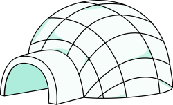free igloo clipart   Preschool-Igloo   Pinterest   Clip art, School ...