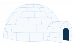 28+ Collection of Igloo Clipart Transparent | High quality, free ...