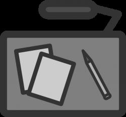 Office Desk Clip Art at Clker.com - vector clip art online, royalty ...