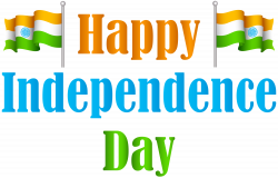 India Happy Independence Day Transparent PNG Clip Art Image ...