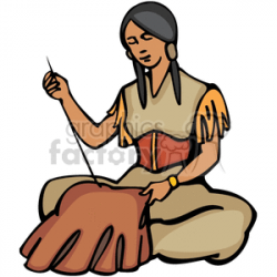 indians 4162007-239. Royalty-free clipart # 374259