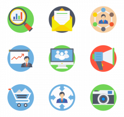 Marketing Icons - 23,422 free vector icons