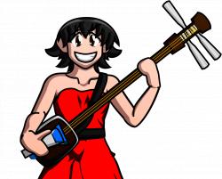 Tomo And Her Shamisen | Azumanga Daioh | Know Your Meme