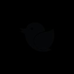 twitter bird, internet, network, social media, web, animal icon