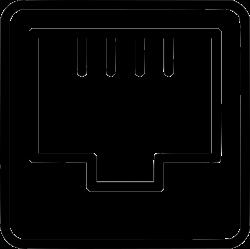Ethernet Port Internet Connection Network Svg Png Icon Free Download ...