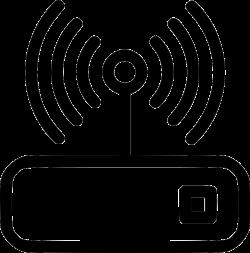 Wi Fi Router Wi Fi Router Internet Internet Connection Network Svg ...
