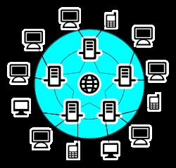 Clipart - Internet Scheme