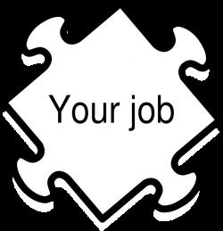 Jigaw Job Clip Art at Clker.com - vector clip art online, royalty ...