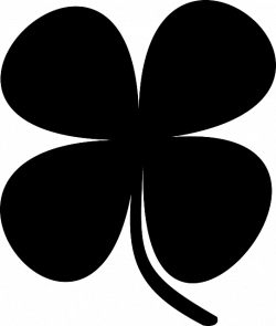 klavertje vier silhouet - Google zoeken | templates | Pinterest ...