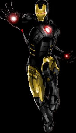 iron man black and gold | Displaying 18> Images For - Iron Man Comic ...