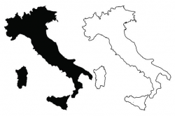 italy clipart map clipartxtras Italy Map Outline 612 X 408 pixels ...