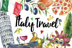 Italy clipart Photos, Graphics, Fonts, Themes, Templates ~ Creative ...