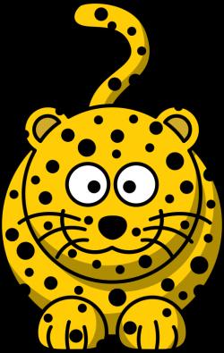 Clipart - Cartoon leopard