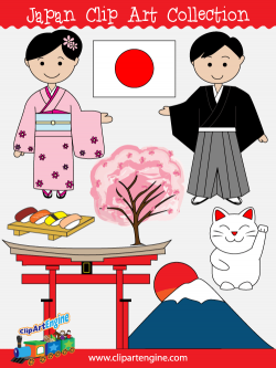 Japan Clip Art Collection for Personal and Commercial Use