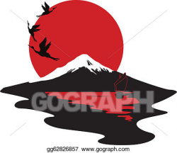 Vector Art - Miniature symbolizing japan. Clipart Drawing gg62826857 ...
