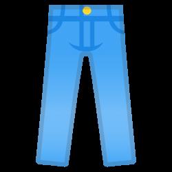 Jeans Icon | Noto Emoji Clothing & Objects Iconset | Google