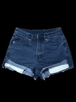Cutoffs Denim Shorts DEEP BLUE: Shorts L | ZAFUL