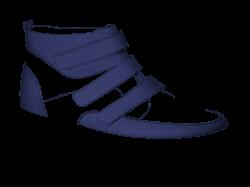 V1430/8 Jeans Aniline Combi Velcro | NIMCO - MADE4YOU