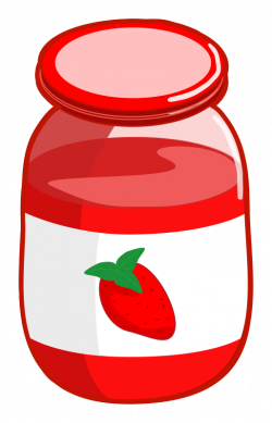 Jelly clipart big - Pencil and in color jelly clipart big