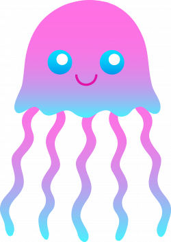 Cute Jellyfish Clipart | Clipart Panda - Free Clipart Images