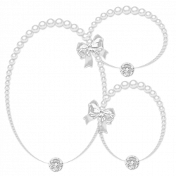 Pearl Necklace Silhouette at GetDrawings.com | Free for personal use ...