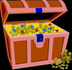 Treasure Chest Clip Art at Clker.com - vector clip art online ...