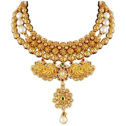 Gold Necklace Luxury transparent PNG - StickPNG