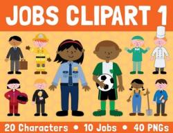 Jobs clipart 1 by Lita Lita | Teachers Pay Teachers