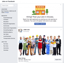 Facebook rolls out job posts to become the blue-collar ...