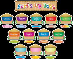 Surfs Up Jobs Mini Bulletin Board | Pinterest | Classroom jobs board ...