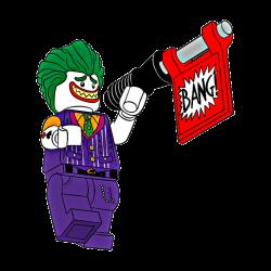 Joker Bang - Sticker by Karleigh Marie Gelowitz