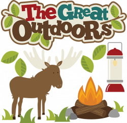 The Great Outdoors SVG files for scrapbooking moose svg file camping ...