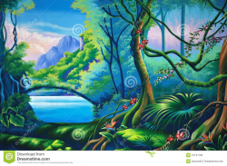 Images For > Jungle Clipart Background   off the map   Pinterest ...