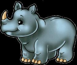 cartoon_ filii_ clipart   Rhinoceros, Clip art and Baby girl scrapbook