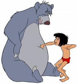 baloo | Baloo and Mowgli Clip Art Images | The Jungle Book at Disney ...