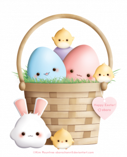 42 Imagens de Cesta de páscoa | Easter baskets, Easter and Kawaii