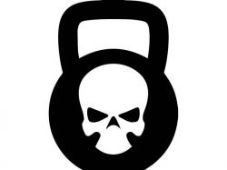 Kettle Bell 3 Skull Kettlebell Weightlifting Bodybuilding