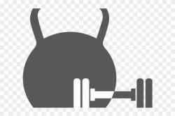 Fitness Clipart Kettlebell - Transparent Background ...
