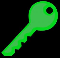 Green Key Clip Art at Clker.com - vector clip art online, royalty ...